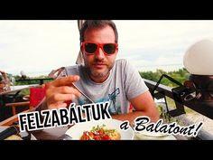 Felzabáltuk a BALATONT: 1. rész - északi part - YouTube Hamburger, Round Sunglasses, Minden, Park, Youtube, Street, Instagram, Kitchen, Cooking