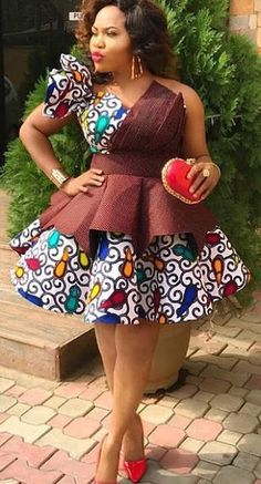 Latest Ankara Short Gowns for Beautiful Ladies.Latest Ankara Short Gowns for Beautiful Ladies Latest Ankara Short Gown, Short African Dresses, Short Gowns, African Print Dresses, African Prints, African Fashion Ankara, Latest African Fashion Dresses, African Print Fashion, Unique Ankara Styles