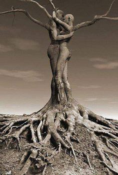 """And we """"shall be like trees planted by the river,..."""" with our roots firmly hugging the Earth and embracing time - locked in our hearts where Love keeps feeding our growth... we can never become malnourished."""