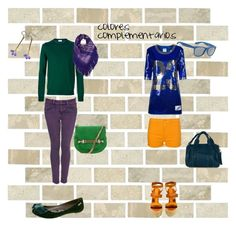 colores complementarios by agatamaibach on Polyvore featuring moda, Jil Sander, CYCLE, Castañer, Gucci, Chic Jewel Couture and Missoni