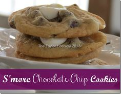 S'more Chocolate Chip Cookie Recipe