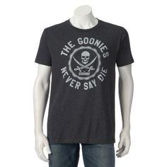 """Men's The Goonies Circular """"Never Say Die"""" Tee $12.99 or 2 / $20.00"""