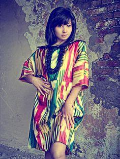 """Купить Платье """"Горные ручьи"""" - платье, авторское платье, нарядное платье, платье-туника, восток"""