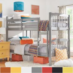 Simone Twin and Twin Bunk Beds by iNSPIRE Q Junior | Overstock.com Shopping - The Best Deals on Kids' Beds