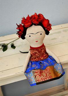 Frida / autorská hračka http://www.fler.cz