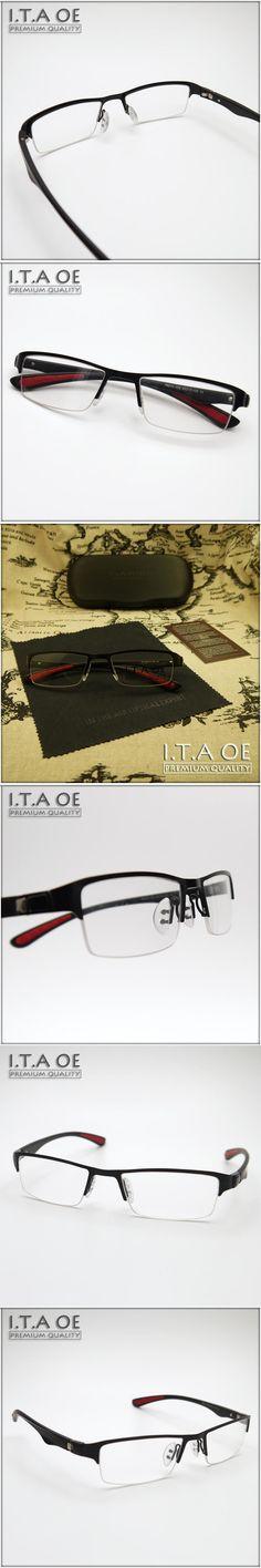 ITAOE 8273 Half Semi Rim Business Style Alloy Tr90 Elastic Men Women Myopia Reading Optical Eyewear Frames Glasses Spectacles