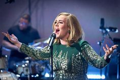 A powerful performance: The NBC Live in New York City! special, which will air on December 14,  follows a similar live performance that Adele did for the BBC