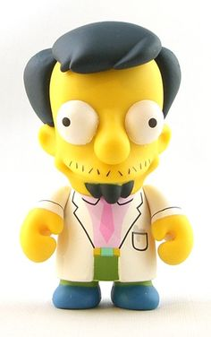 """Toy098 """" Dr. Nick"""" by Matt Groening / Simpsons Series for Kid Robot (2010) #Toy"""
