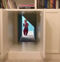 Super house dream secret passage hidden passageways ideas, - New Ideas Secret Rooms In Houses, Passage Secret, Hidden Passageways, Secret Hiding Places, Hidden Spaces, Inside Cabinets, Safe Room, Dream Rooms, My Dream Home