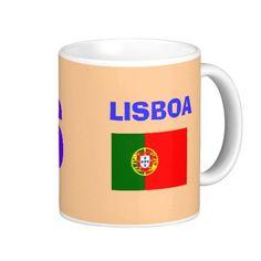 Lisboa* LIS Airport Mug