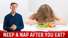 Sleepy After Lunch? Your SIESTA Means You Have... Sleepy After Lunch, Feeling Sleepy After Eating, Tired After Eating, Healthy Snacks, Healthy Eating, Healthy Recipes, High Carb Diet, Dr Berg, Nutrition