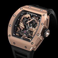#часы #richardmille RM 057-01 #tourbillon #phoenix and #dragon #jackie #watches by watchster_ru