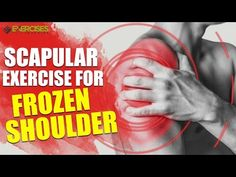 Finishing up this month's Injury of the Month on Exercises for Frozen Shoulder was very eye opening for me. I have been doing most of what I learned when I dug into the research, but I want [. Shoulder Injury Exercises, Frozen Shoulder Exercises, Shoulder Stretches, Shoulder Injuries, Shoulder Workout, Rotator Cuff Recovery, Health And Wellness, Health And Beauty, Women's Health