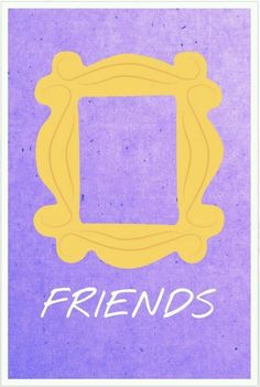 Art student Allison Hoover creates minimalist posters in honor of the 'Friends' anniversary. Friends Show, Serie Friends, I Love My Friends, Friends Moments, Wallpaper Cellphone, Audrey Horn, Poster Minimalista, Friends Poster, Favorite Tv Shows