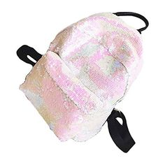 New BAOBAO Magic Sequin School Backpack Sparkly Lightweight Back Pack  Stylish Bling satchel online.   60f3ce09309e4