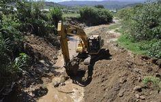 El  Instituto Nacional de Recursos Hidráulicos (INDRHI) inició los trabajos de adecuación del o río Tireo