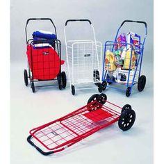 Model NTC002 Jumbo Super Folding Shopping Grocery Cart