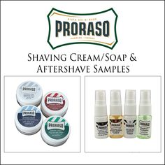 Proraso-Aftershave-and Shaving-Cream-Samples-img for page