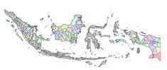 Download SHP Indonesia Level Kota dan Kabupaten