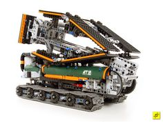 LEGO Military Bridge Launching Vehicle Folded Up