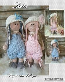 crochetpattern Lola in Nederlands English and Deutsch image 6 Crochet Doll Pattern, Crochet Patterns Amigurumi, Amigurumi Doll, Knitted Dolls, Crochet Dolls, Lilly Doll, Crochet Teddy, Soft Dolls, Stuffed Animal Patterns