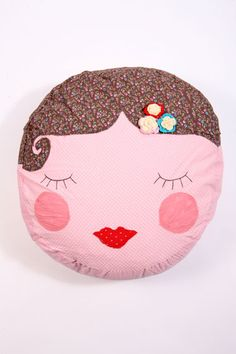 This is a good face for the cloth dolls I make.