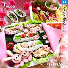 Thank you so much @ptk_food and @piap1ikica for featuring my bento pic  Please let me repost just for my memory✨✨  @ptk_food さんにお花見大箱弁をフィーチャーして頂きました 記録のためにリポストさせてくださいね  昨日はたくさんのお誕生日お祝いメッセージを頂きありがとうございました✨✨ お返事なかなか返せなくてごめんなさい 入園&入学準備で連日バタバタですが、なんとか気合いで頑張りまーーす 皆様今日も素敵な1日を✨✨  #Repost @ptk_food with @repostapp.・・・The belly rules the mind  Congratulations the best food photo belongs to @naocoisa Happy Easter dear food lovers  Be sure to stop by this gallery and show some love  Tag any type of…
