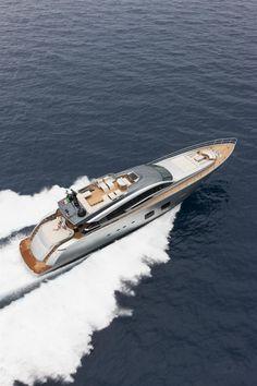 External view Pershing Yacht - Pershing 108'