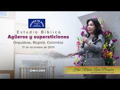 Agüeros y supersticiones - Orquídeas Bogotá Colombia - 17 diciembre 2019, Hna María Luisa Piraquive - YouTube