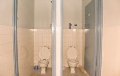 by Andrea Ruth Bathroom Lighting, Spaces, Mirror, Interior, Pink, Home Decor, Bathroom Light Fittings, Bathroom Vanity Lighting, Decoration Home