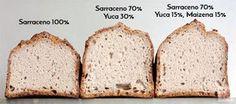¿Como hacer un pan de trigo sarraceno integral? ¿Le añado almidón? ¿Cual? Vamos a probar con el almidón de yuca y el de maíz.