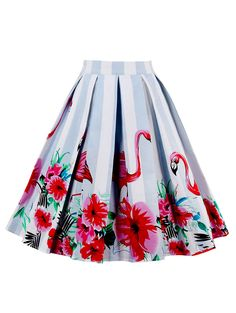 SHARE & Get it FREE   High Waist Animal Floral Print A Line SkirtFor Fashion Lovers only:80,000+ Items • New Arrivals Daily • Affordable Casual to Chic for Every Occasion Join Sammydress: Get YOUR $50 NOW!