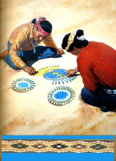 Sand painters