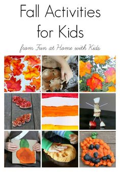 15 Easy Fall Activities for Kids from Fun at Home with Kids
