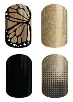 Spring/Summer 2015 Butterfly Effect::Gold Sparkle::Darkest Black::Fade Out