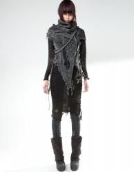 Dystopian Fashion, demobaza - mesh rise up forest fit !!!