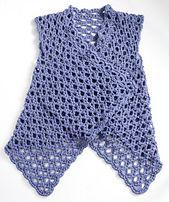 Ravelry: Mesh Vest pattern by Doris Chan, #crochet, free pattern, #haken, gratis patroon (Engels), vest, zomer,