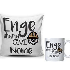 Ing Civil, Engineer Mug, Mary, Future, Tableware, Books, Graduation Cup, Ceramic Mugs, Personalized Gifts