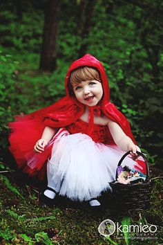 Little Red Riding Hood Tutu Costume sizes 3 by TrinitysTutus
