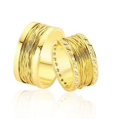 verighete aur galben 2014 Napkin Rings, Mai, Home Decor, Bands, Weddings, Diamond, Decoration Home, Room Decor, Band