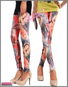 Retail Leggings For Girls Printed LML0063 Cheap Price Drop Shipping Free Shipping