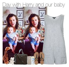 """""""Day with Harry and our baby"""" by directioner-fashion-453 ❤ liked on Polyvore featuring Topshop, Ju Ju Be, Case-Mate, UGG Australia and Linea"""