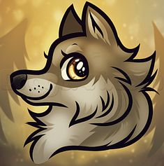 wolf cartoon drawings draw animals step head drawing anime cool disegni lupi draws wolves disegno bambini animal simple another sketch