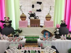 Panda Bear Birthday Party Ideas | Photo 3 of 11 | Catch My Party
