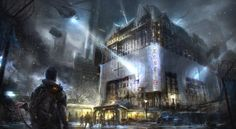 Ubisoft Releases New Concept Art for The Division - MP1st