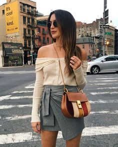 WEBSTA @ thriftsandthreads - Saturdayyy in the city 🤗 kind of dying over how perf this bag is for fall #NYFW