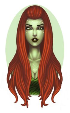 Poison Ivy by ~OriginStory on deviantART