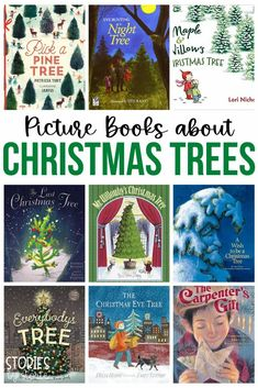 Looking for picture books about Christmas trees? Here are some of our favorites.