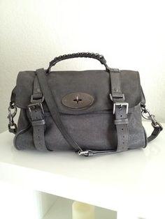 77316e3efe Mulberry Alexa Sparkle Tweed Leather Gunmetal Bag - Satchel  425 Mulberry  Satchel