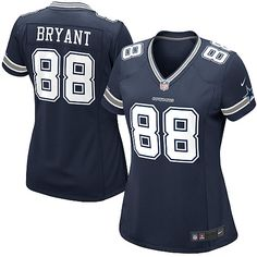 NFL Women's Elite Nike Dallas Cowboys Dez Bryant Team Color Jersey